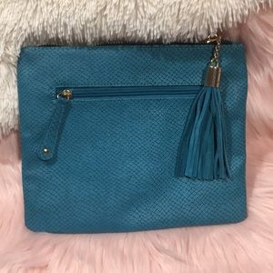 Bohme Bags - NWOT - Bohme - Street Level Turquoise Clutch